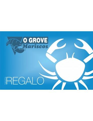 Tarjeta Regalo Mariscos O Grove
