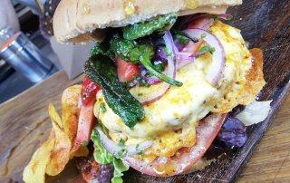 hamburguesa de pulpo