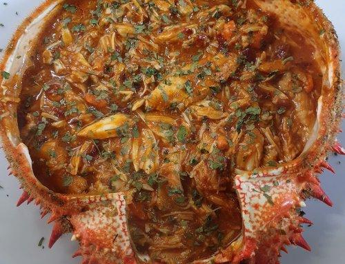 Centollo chili crab